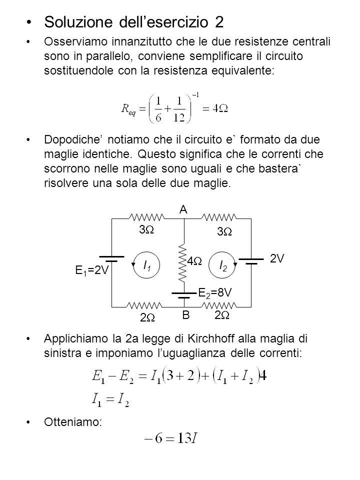 Soluzione dell'esercizio 2