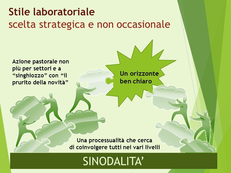Stile laboratoriale scelta strategica e non occasionale