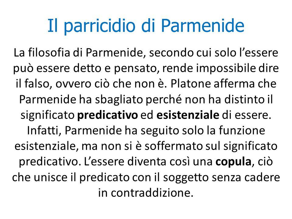 Il parricidio di Parmenide