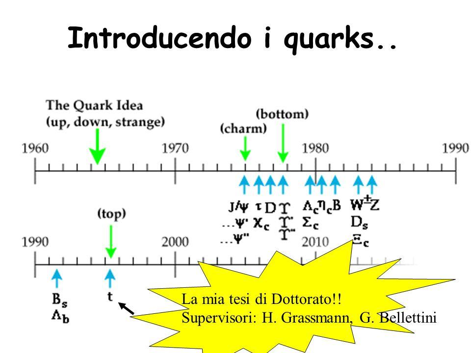 Introducendo i quarks.. La mia tesi di Dottorato!!