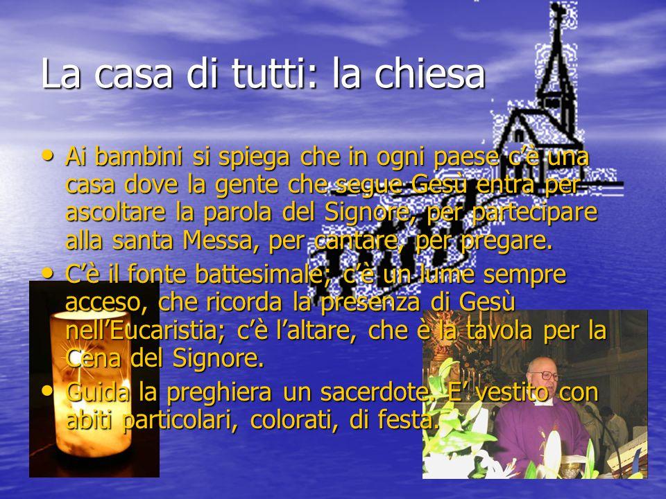 La casa di tutti: la chiesa