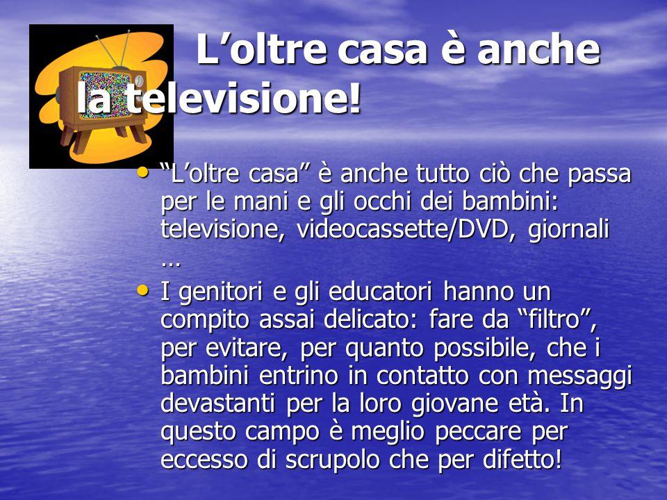 L'oltre casa è anche la televisione!