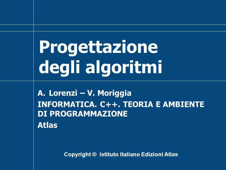 Progettazione degli algoritmi