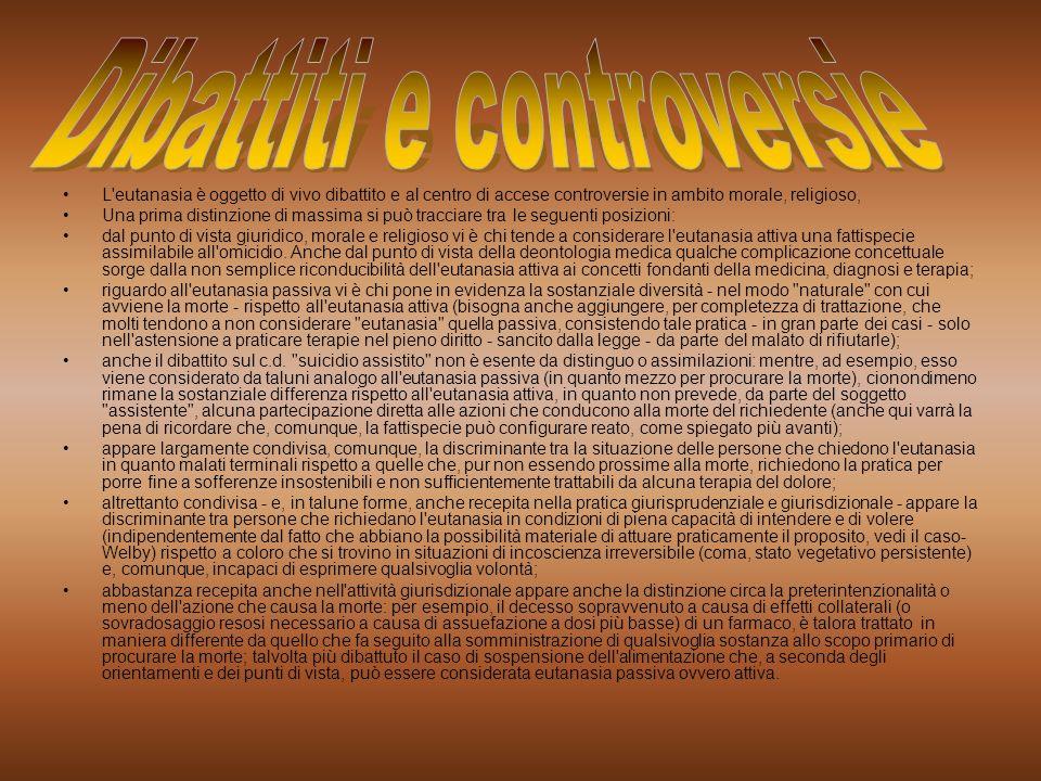 Dibattiti e controversie