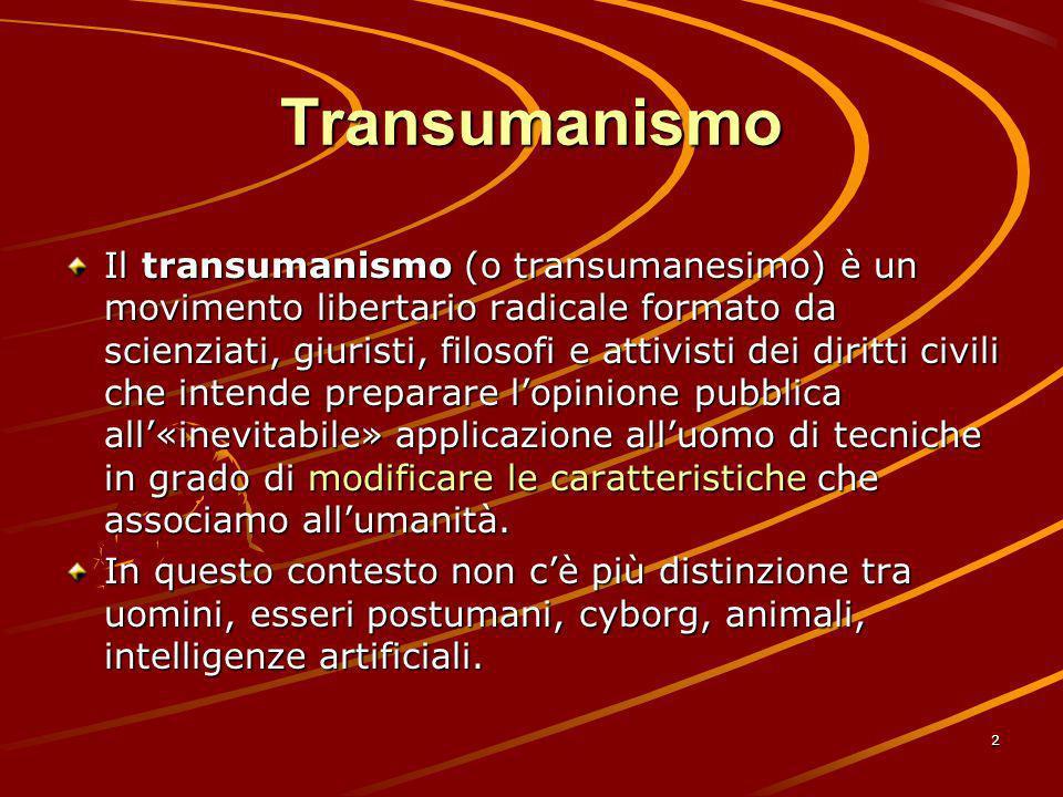 Transumanismo