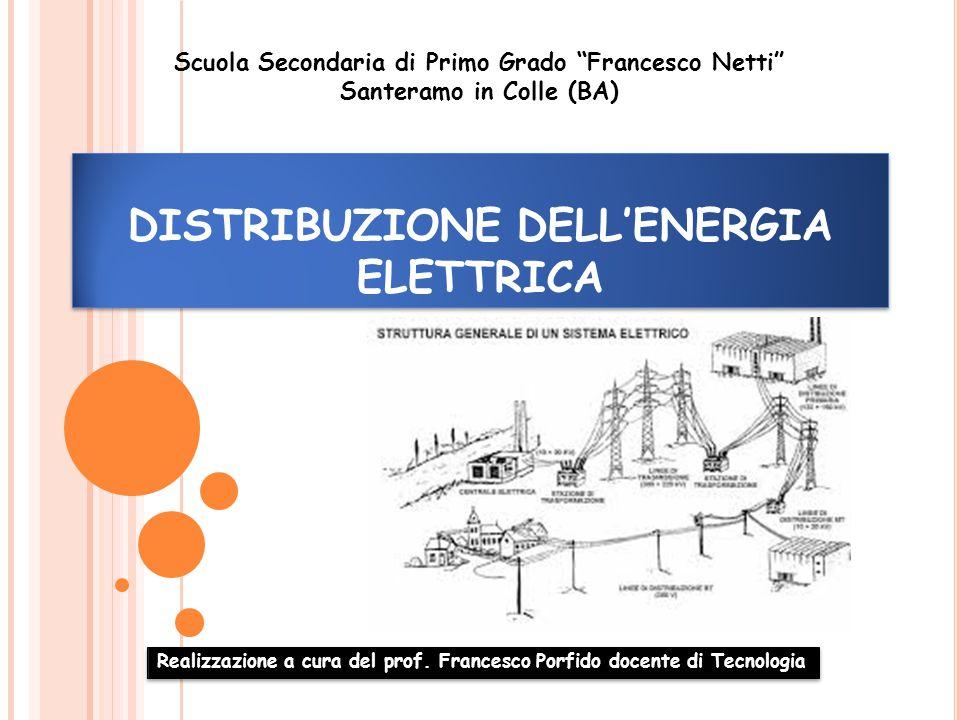 DISTRIBUZIONE DELL'ENERGIA ELETTRICA