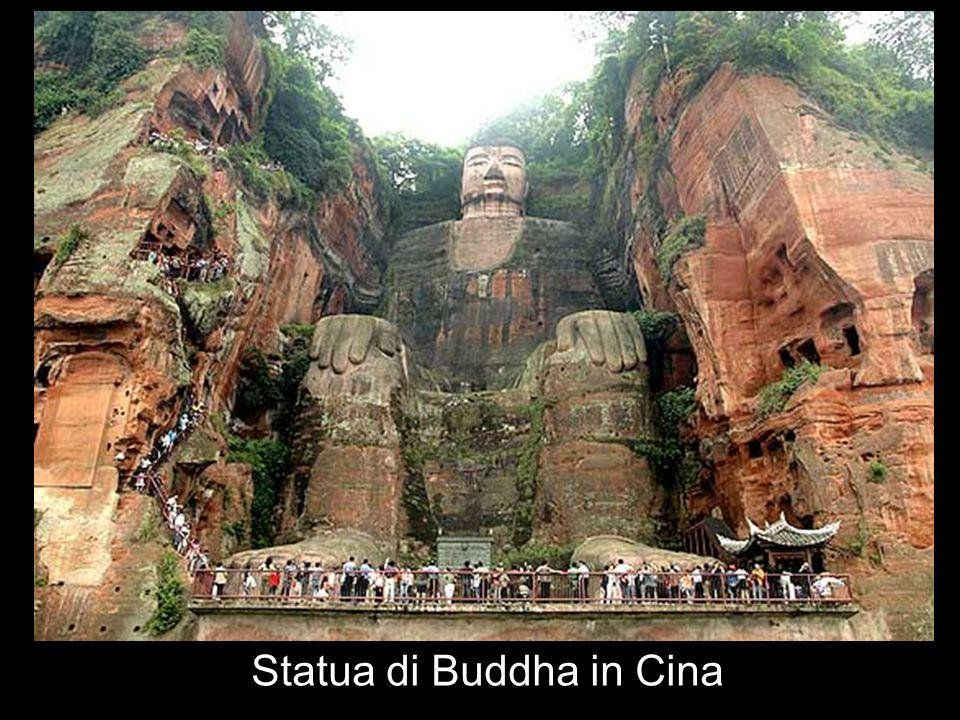 Statua di Buddha in Cina