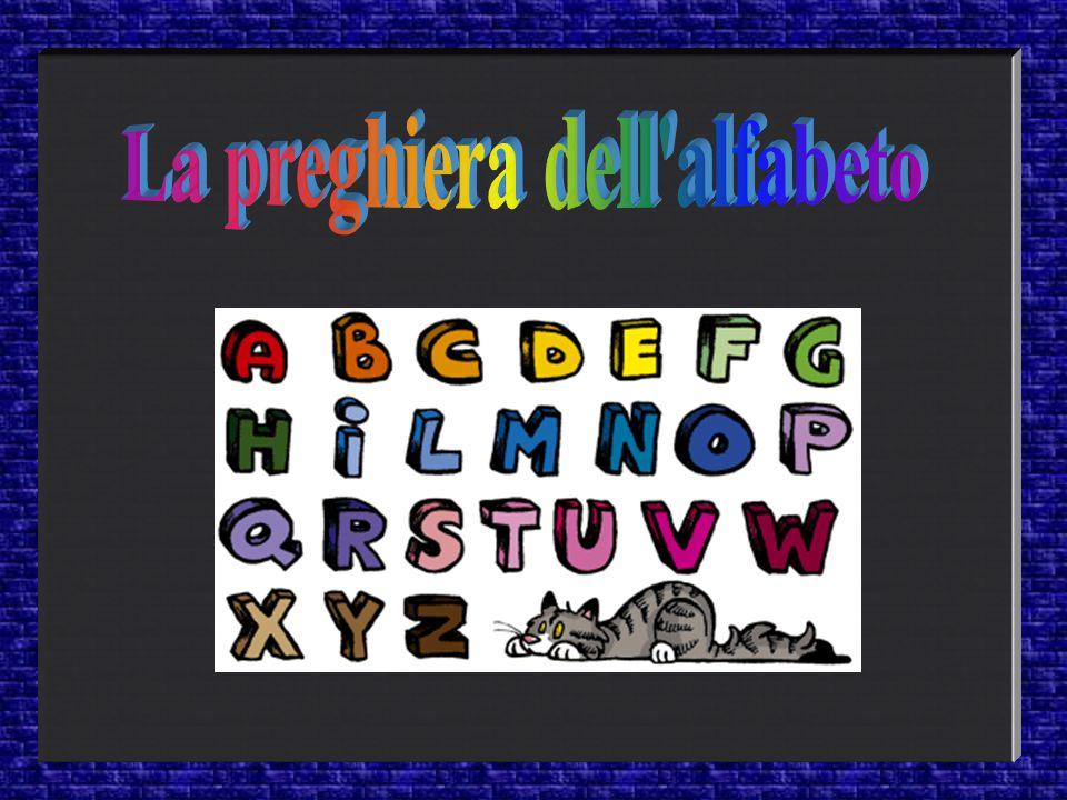 . La preghiera dell alfabeto