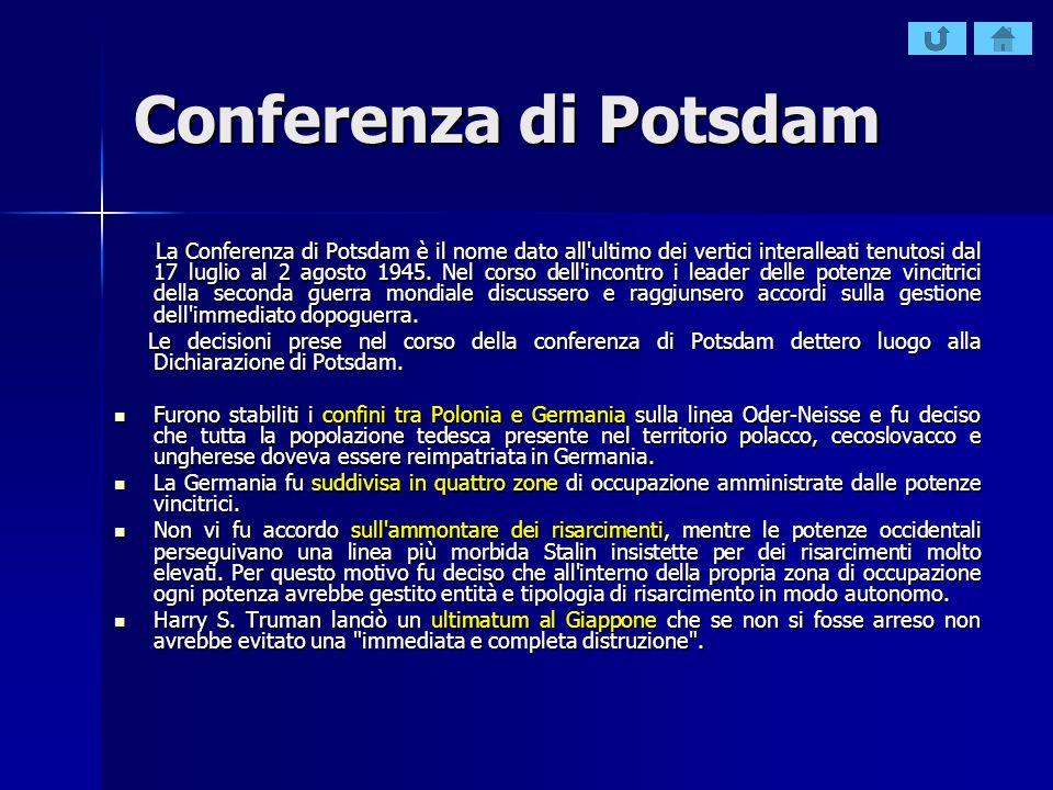 Conferenza di Potsdam