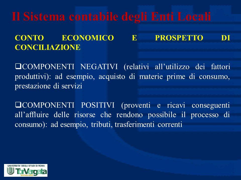 Il Sistema contabile degli Enti Locali