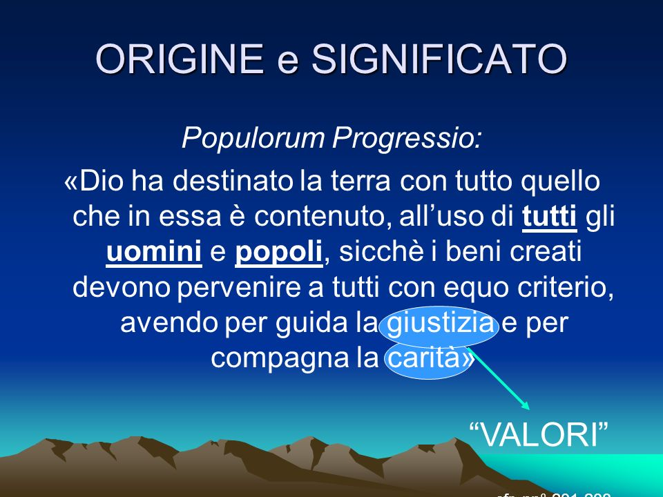 Populorum Progressio: