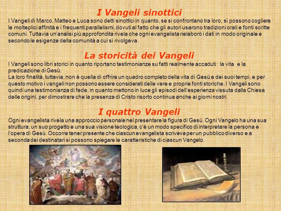 La storicità dei Vangeli