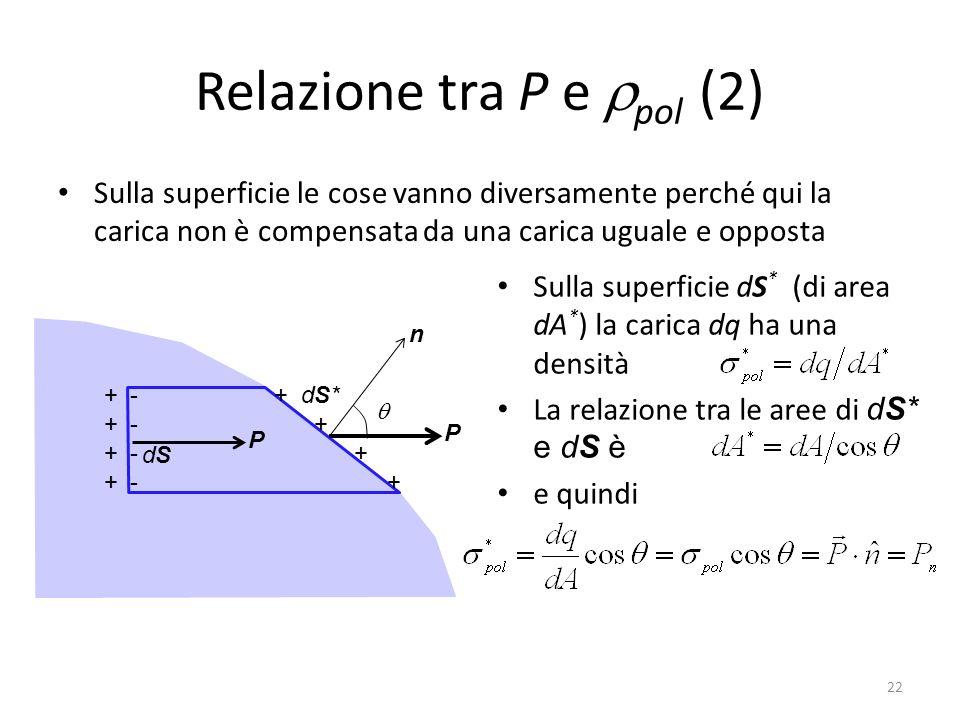 Relazione tra P e rpol (2)