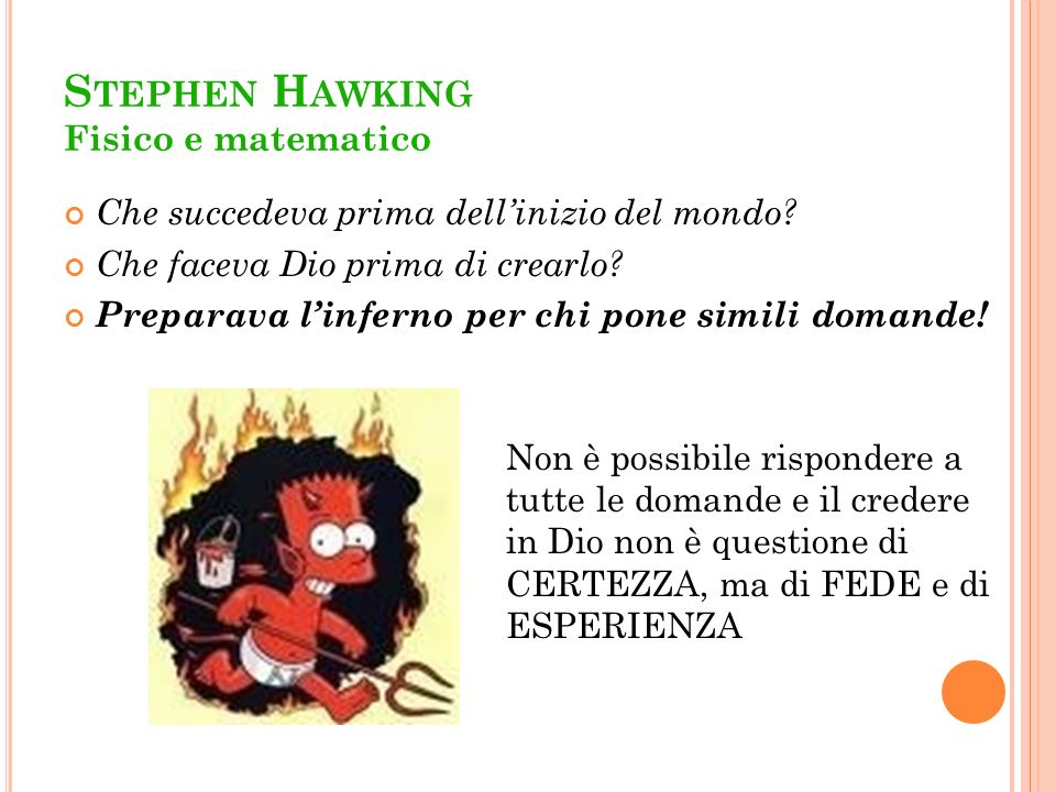 Stephen Hawking Fisico e matematico