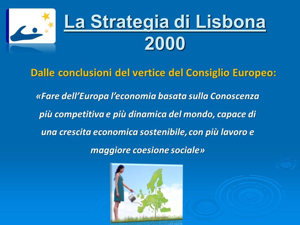 La Strategia di Lisbona 2000