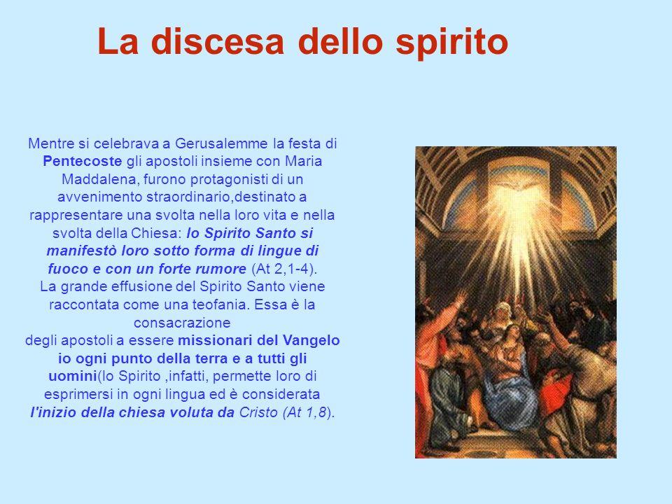 La discesa dello spirito