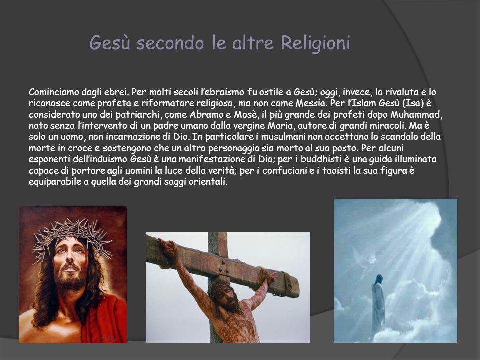 Gesù secondo le altre Religioni