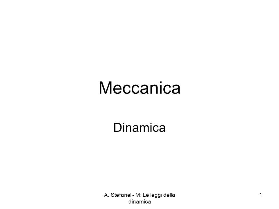 A. Stefanel - M: Le leggi della dinamica