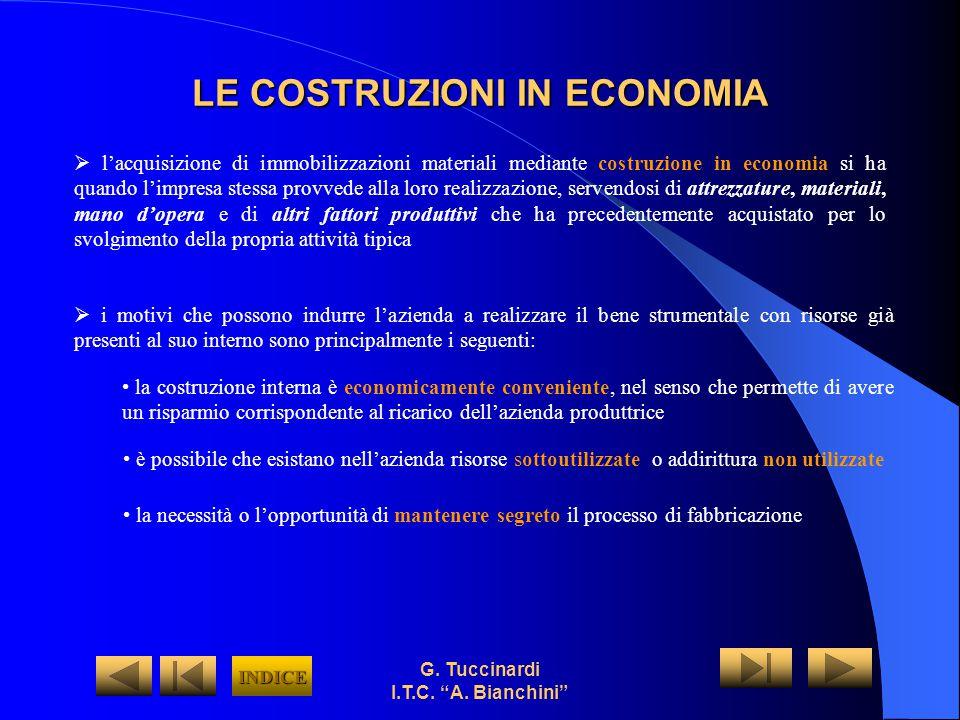 LE COSTRUZIONI IN ECONOMIA
