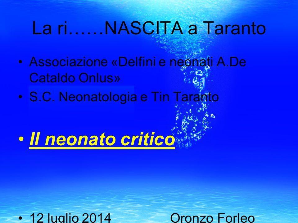 La ri……NASCITA a Taranto