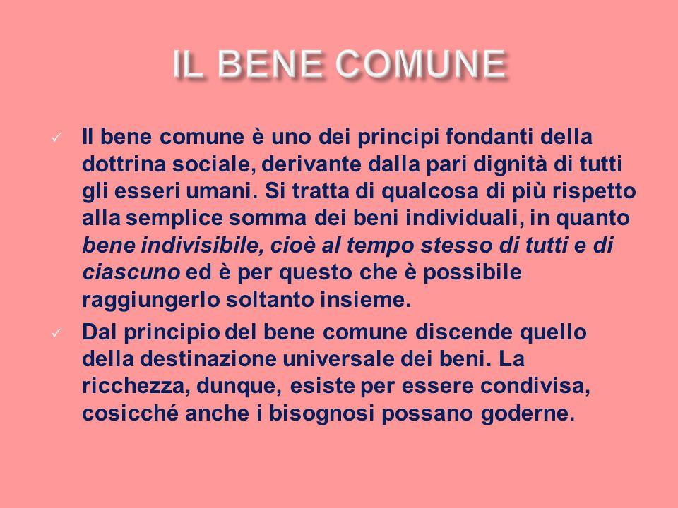 IL BENE COMUNE