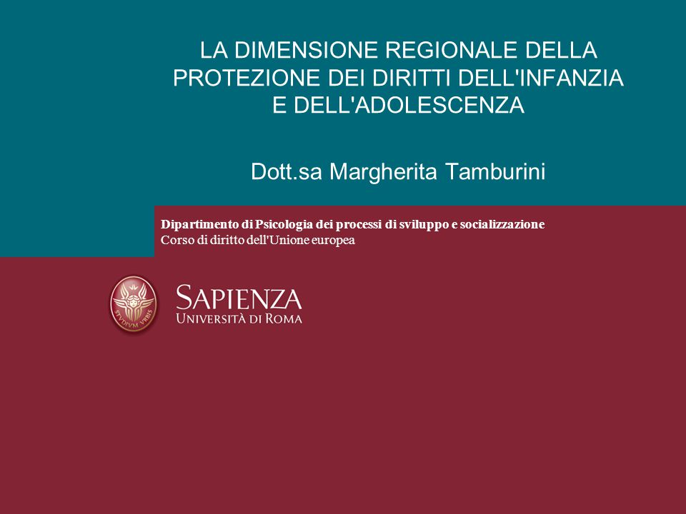 Dott.sa Margherita Tamburini