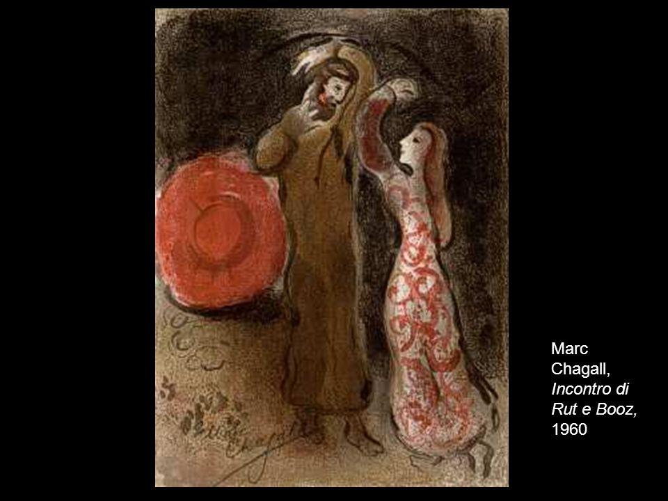 Marc Chagall, Incontro di Rut e Booz, 1960