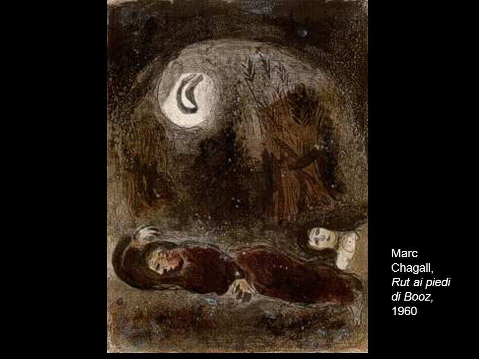 Marc Chagall, Rut ai piedi di Booz, 1960