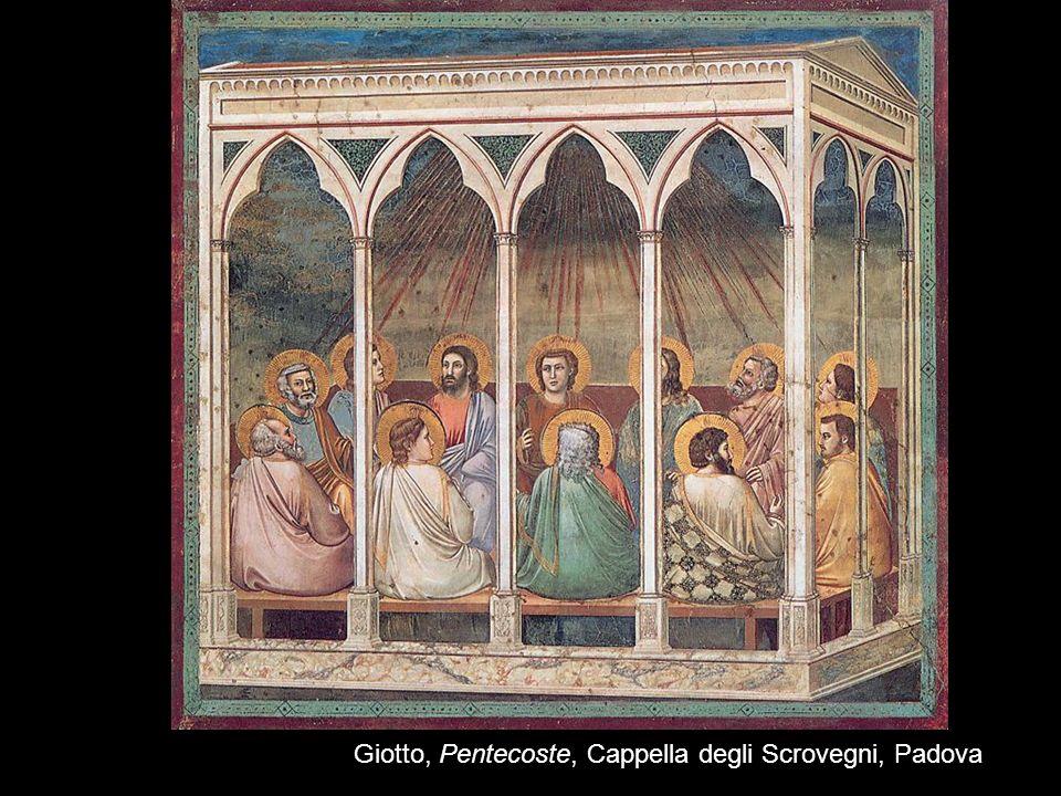 Giotto, Pentecoste, Cappella degli Scrovegni, Padova