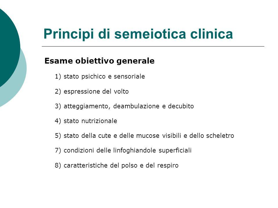 Principi di semeiotica clinica