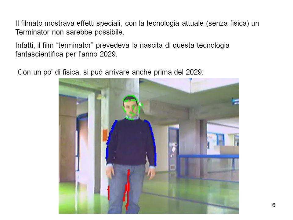 Il filmato mostrava effetti speciali, con la tecnologia attuale (senza fisica) un Terminator non sarebbe possibile.