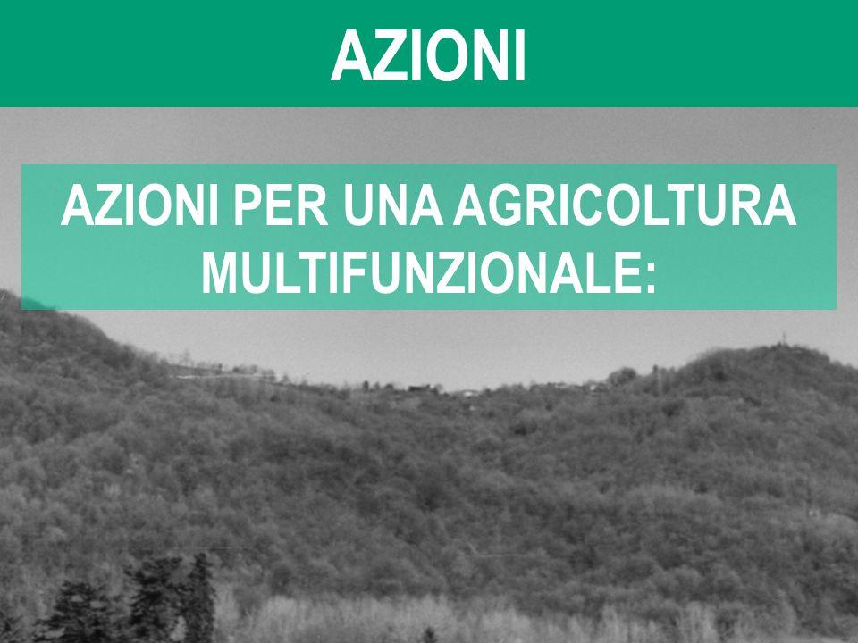 AZIONI PER UNA AGRICOLTURA