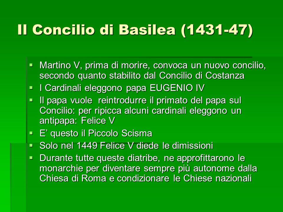 Il Concilio di Basilea (1431-47)