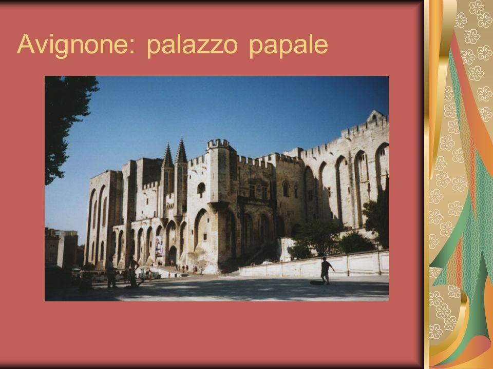 Avignone: palazzo papale