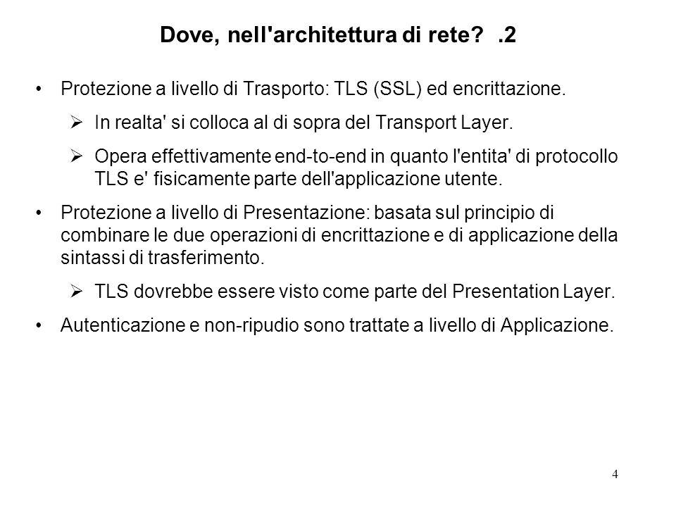 Dove, nell architettura di rete .2