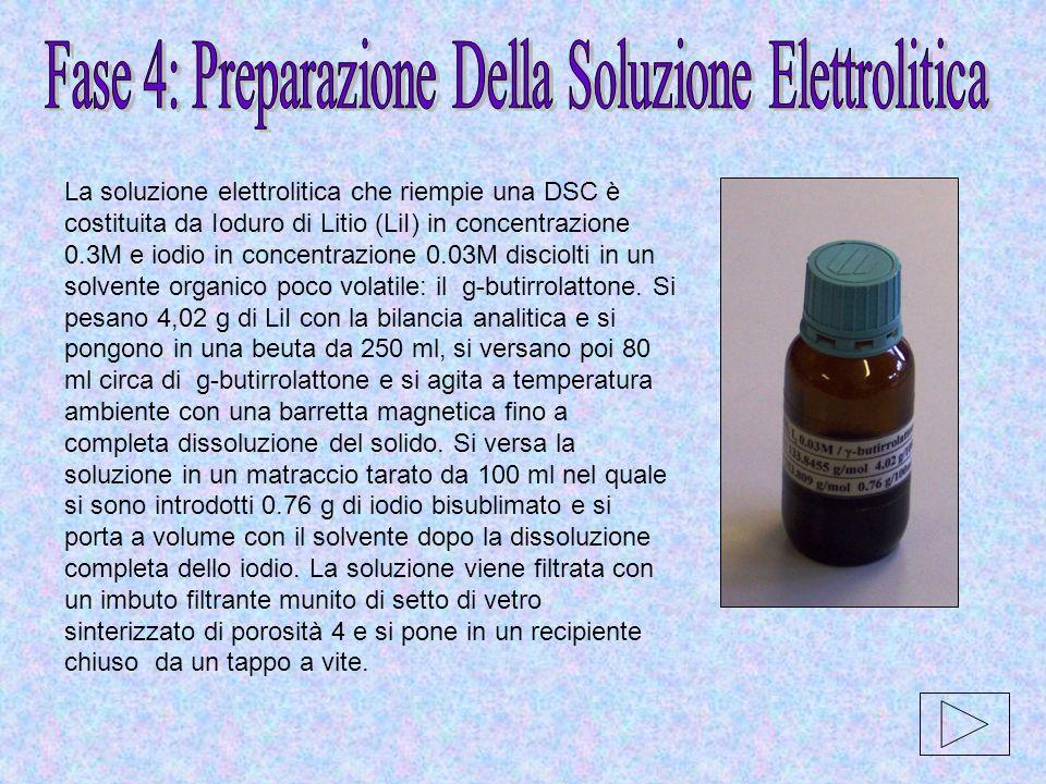 Fase 4: Preparazione Della Soluzione Elettrolitica