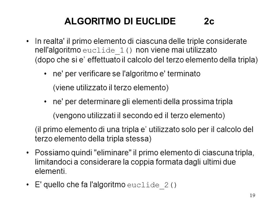 ALGORITMO DI EUCLIDE 2c