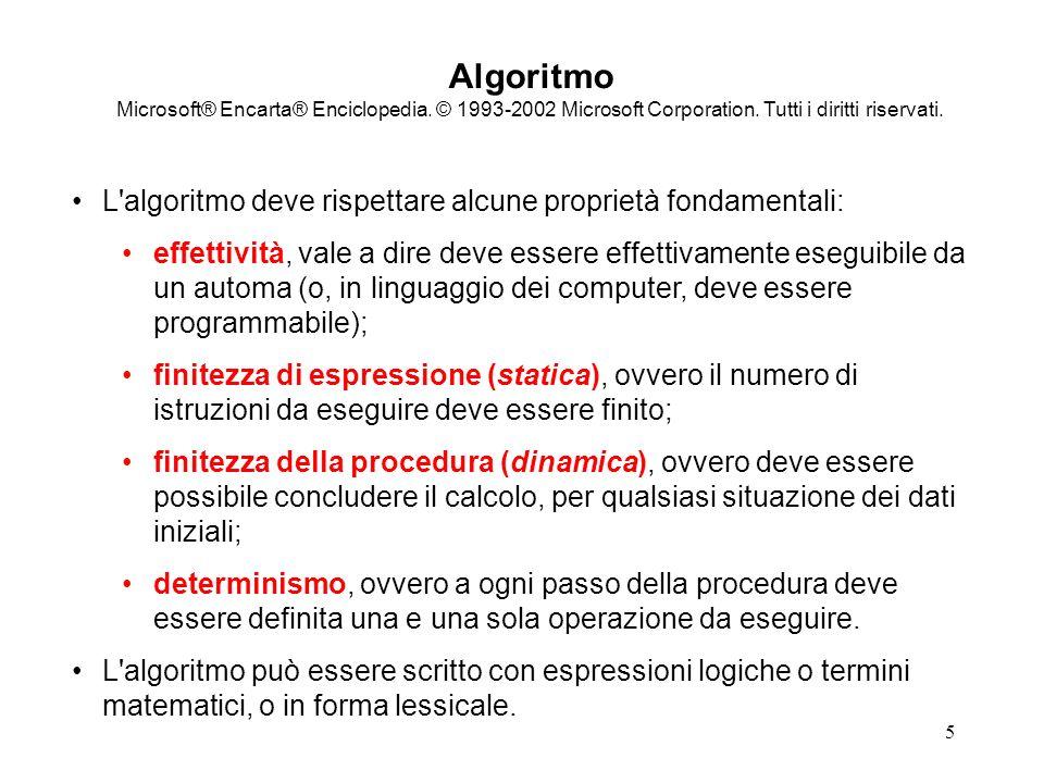 Algoritmo Microsoft® Encarta® Enciclopedia