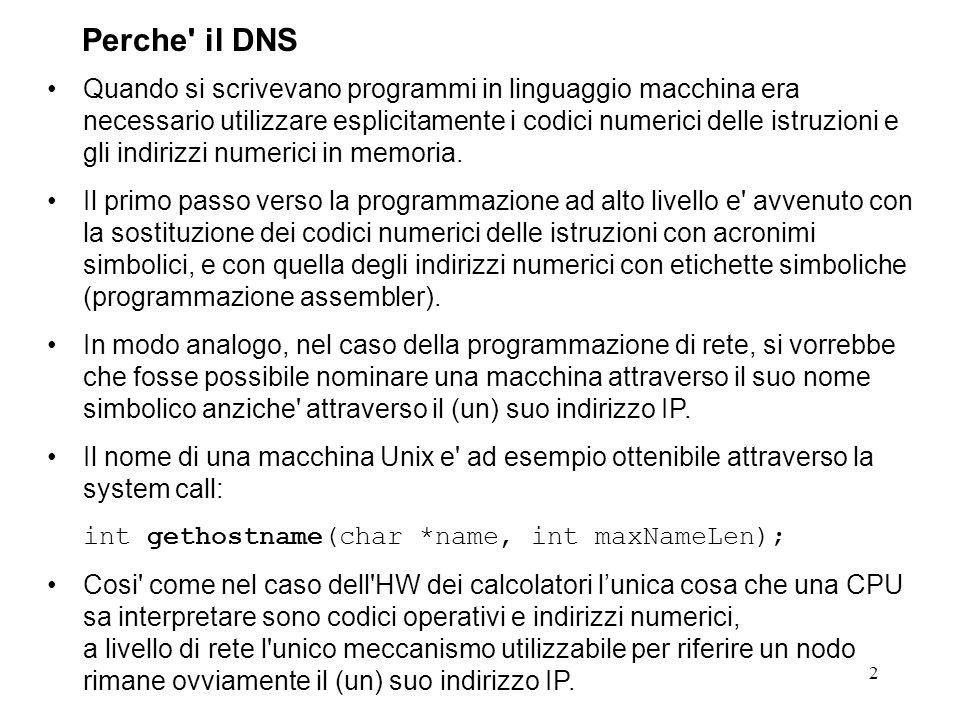 Perche il DNS