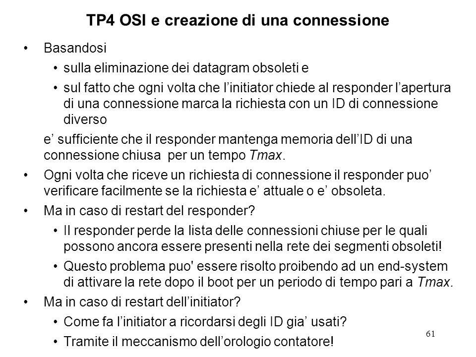 TP4 OSI e creazione di una connessione