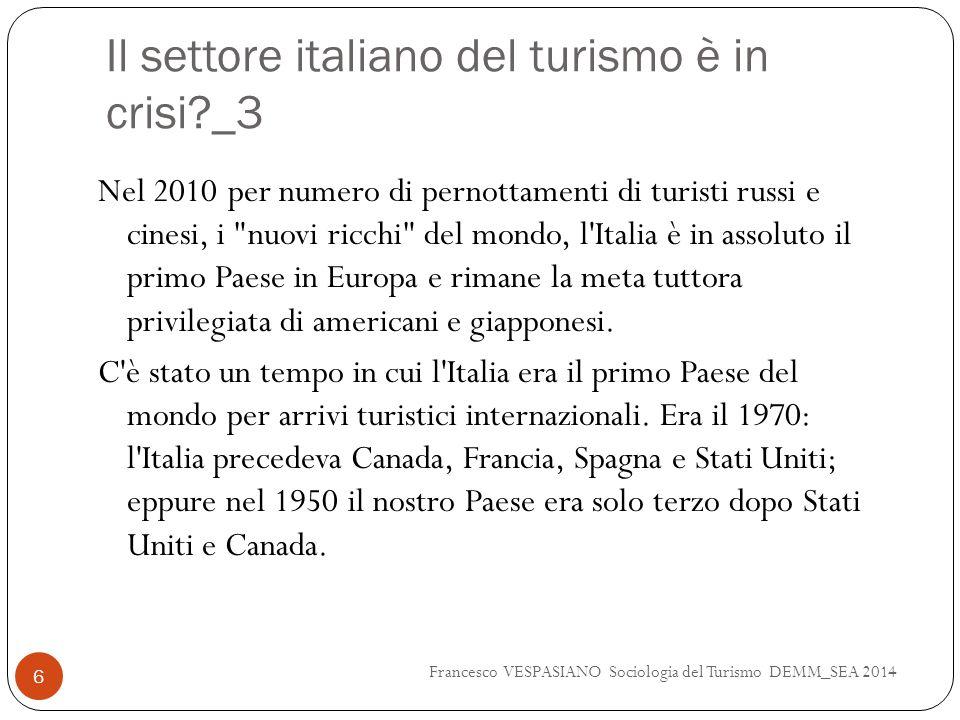 Il settore italiano del turismo è in crisi _3