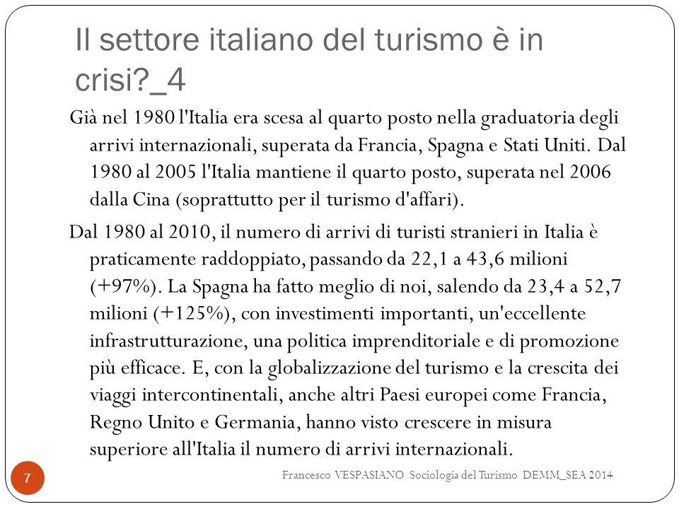 Il settore italiano del turismo è in crisi _4