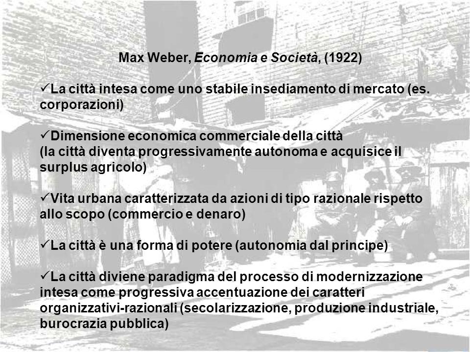 Max Weber, Economia e Società, (1922)