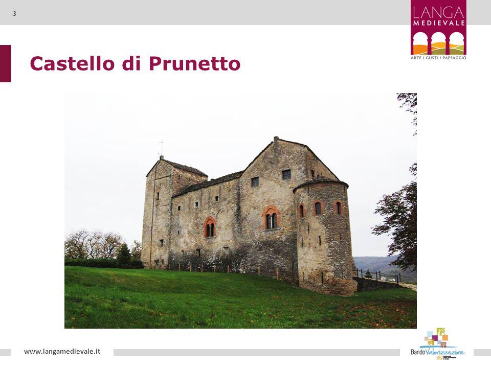 Castello di Prunetto www.langamedievale.it