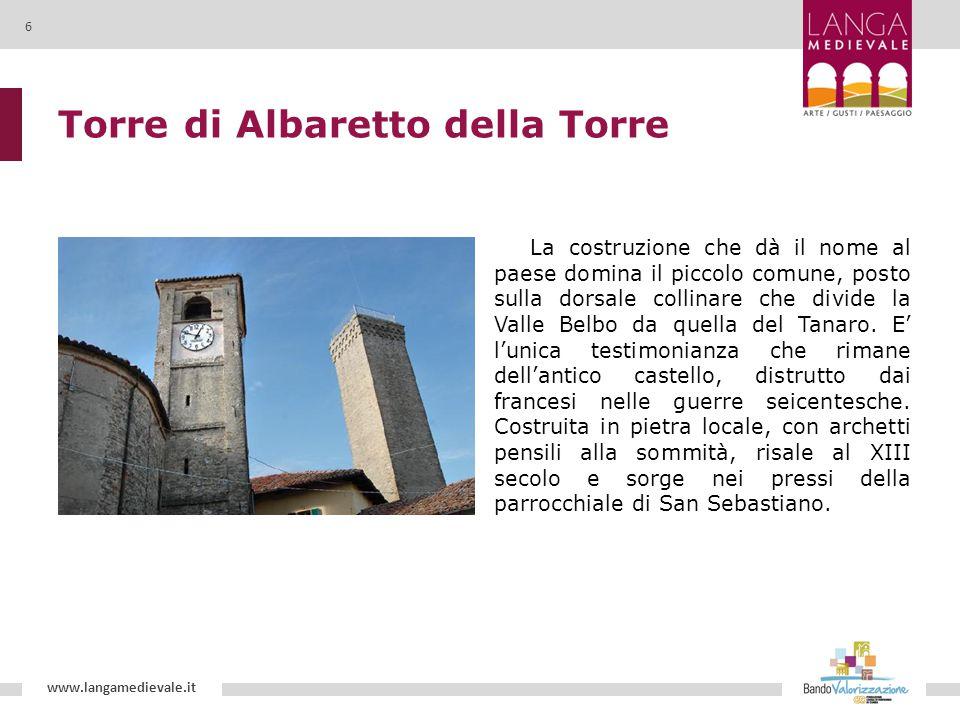 Torre di Albaretto della Torre