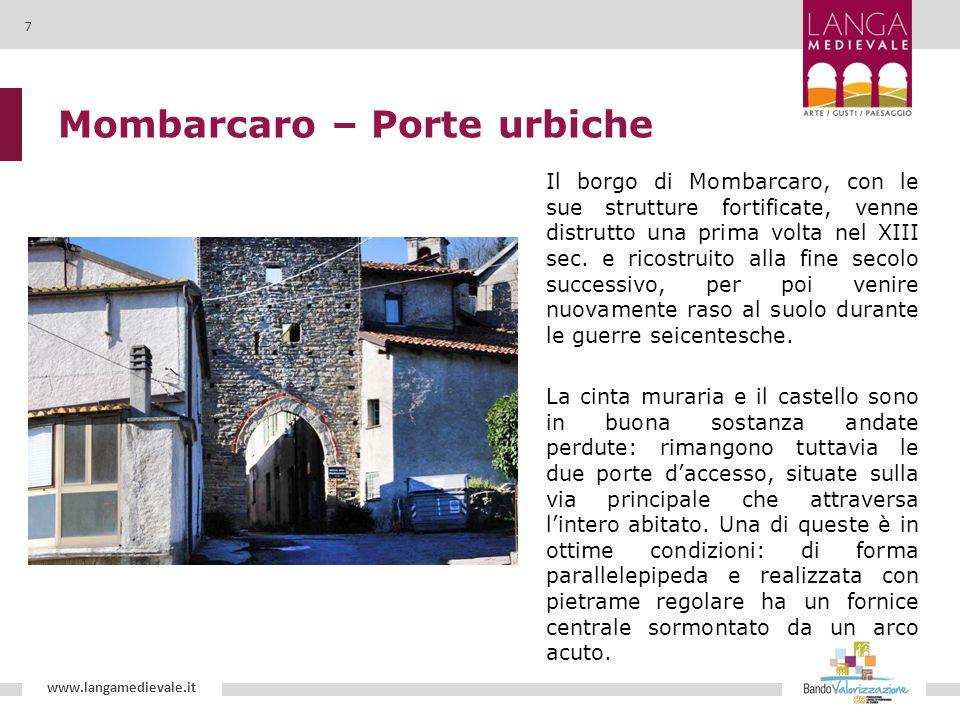 Mombarcaro – Porte urbiche