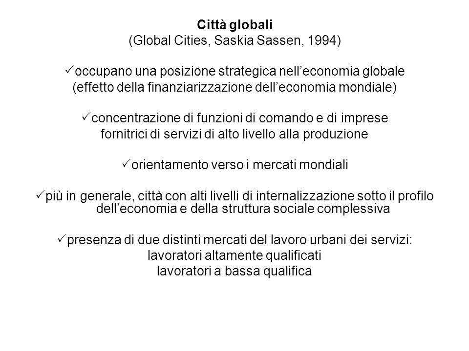 (Global Cities, Saskia Sassen, 1994)