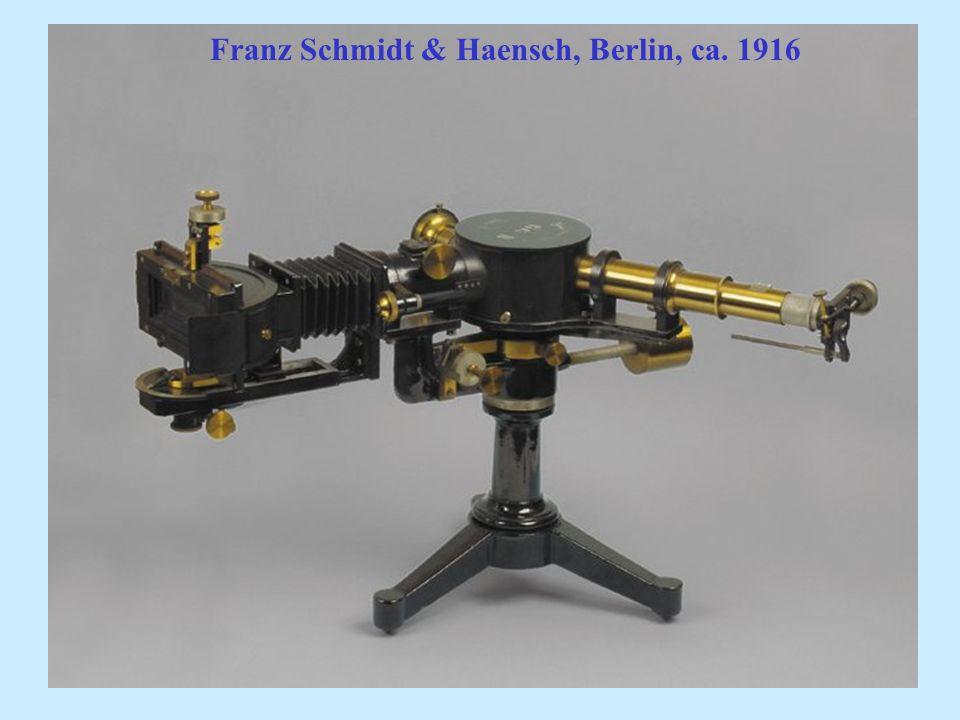 Franz Schmidt & Haensch, Berlin, ca. 1916