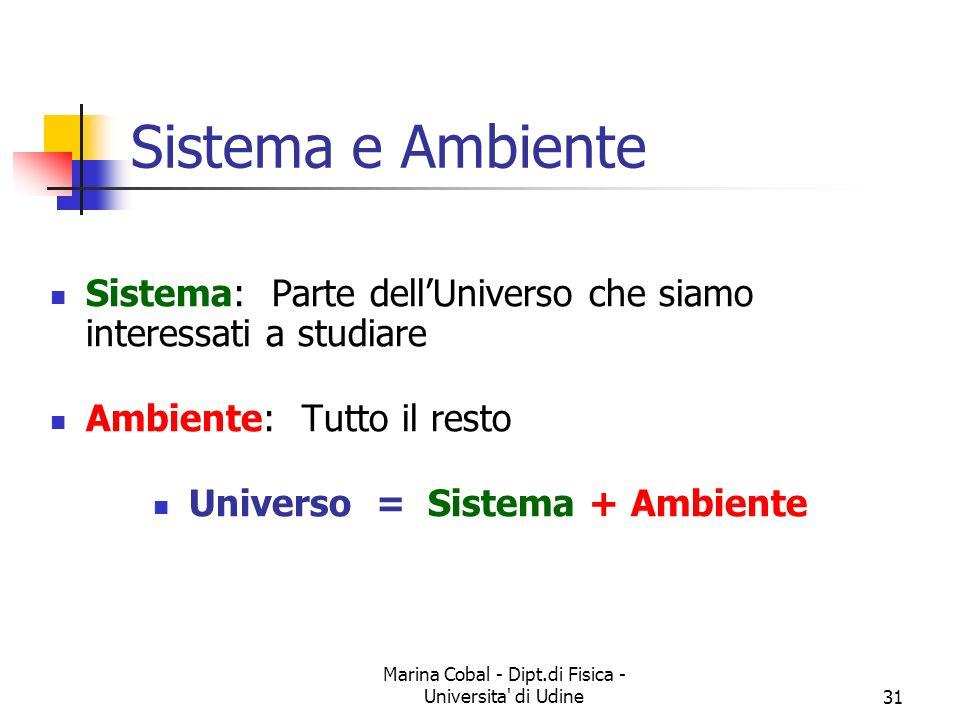 Universo = Sistema + Ambiente