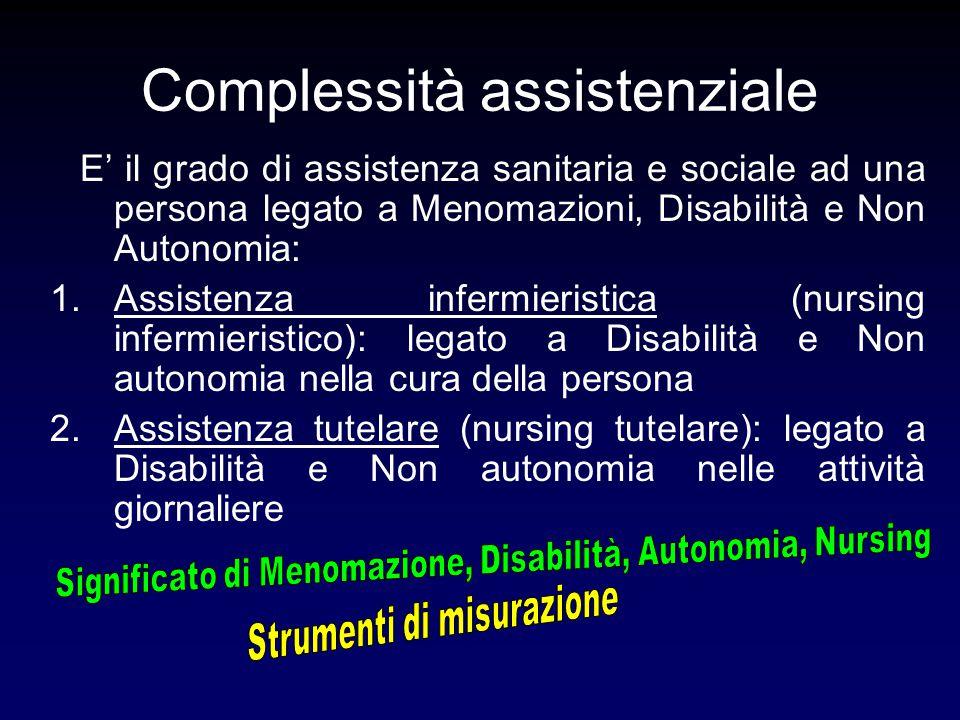 Complessità assistenziale